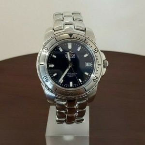 Sector 39mm Blue Dial Stainless Steel Mens Watch